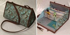 This Compact Bag Has 10 pockets, an Ironing Pad and Room for a Small Ruler and Cutting Mat! Packing up tools and supplies for a quilting class or retreat can be a real chore. It can be especially annoying when you want to head out for an impromptu quilting session with friends. Fortunately, there's a …