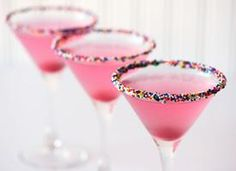 It's pink... it's a martini... we might have to have this too!