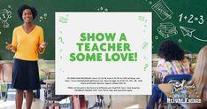 Love a teacher? Cambells Recipes, Halloween Stencils, Watch Cufflinks, Make Real Money, Visa Gift Card, Guitar Pedals, Bright Future, Goat Cheese, Giveaways