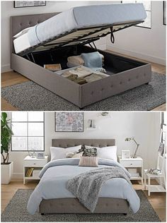 4fb528f5895b These 9 beds offer plenty of storage as well as style. Small Scale FurnitureSpace  FurnitureLift ...