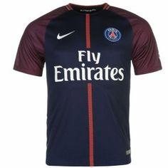 Notice: this item is football kit, include Football Shirt and Football Shorts Paris Saint-Germain Home Stadium Shirt In the spring Football Kits, Psg, Paris Saint, Saint Germain, Manchester United, 18th, Barcelona, Nike, Shirts