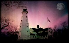 "500px / Photo ""Haunted North Point Lighthouse"" by Dawn Marie"