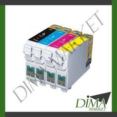 CARTUCCE INK T0713 T0893 MAGENTA COMPATIBILE PER EPSON