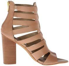 Sam Edelman Yazmine Sandal In Saddle Size 8.5M Women Leather Gladiator Shoe W262 #SamEdelman #Gladiator