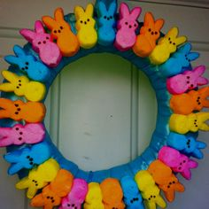 peeps crafts | Peeps wreath...yummy and cute! | crafts