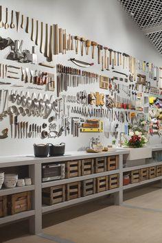 diy garage storage organization – how to design a garage Workshop Storage, Workshop Organization, Garage Workshop, Garage Organization, Workshop Ideas, Workshop Studio, Workshop Layout, Organizing Tools, Organized Garage