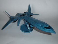 X-Men Blackbird Jet Paper Model | Tektonten Papercraft