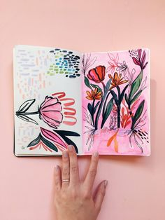 Art journaling how-to