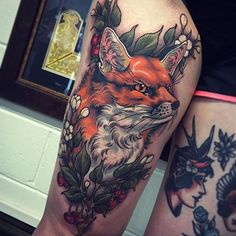 Tattoo by @tom_bartley
