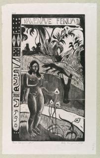 Paul Gauguin, Nave Nave Fenua, 1893-94, Wood engraving