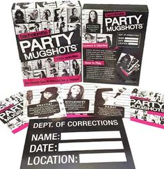 Bachelorette Party Mugshots Game for the world's most memorable party!
