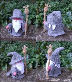 Gandalf the Gray pdf crochet pattern - via @Craftsy