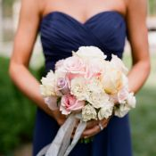 Pink Lavender Cream and Yellow Rose Bouquet