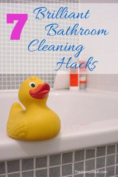 """Bathroom cleaning hacks that will have you saying """"why didn't I think of that?"""""""