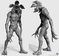 ArtStation - Demogorgon for MCFarlane toys, Majid Smiley (Esmaeili)
