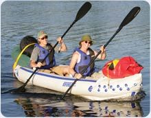 Sea Eagle Inflatable Kayak - Have to convince AJ we need one of these