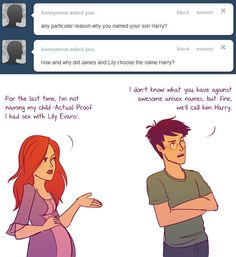 'Ask Jily' Which is a horrendous couple name, but okay. - Imgur