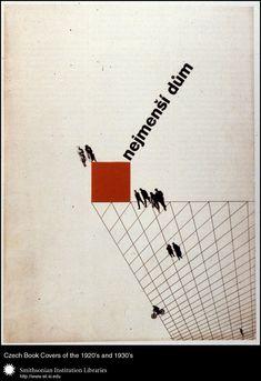 Czech book covers 1920-30s