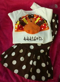 Turkey Day Outfit!  Check out Punkin Seeds on fb!