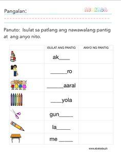 Pantig Worksheet for Grade 1 , Filipino Printable worksheets 1st Grade Worksheets, Tracing Worksheets, Vocabulary Worksheets, Free Worksheets, Alphabet Worksheets, Preschool Worksheets, Printable Worksheets, Printables, Study Habits