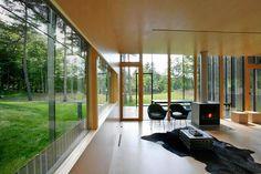 Salt Point House by Thomas Phifer- building's skin blurs boundaries of space