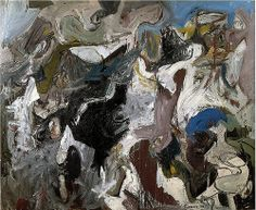 Nicolas Carone, Untitled, 1957. Oil on canvas, 60 x 74 inches.