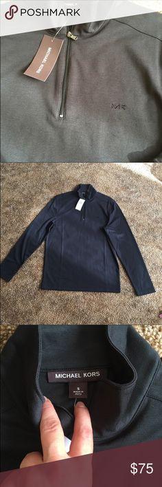 Michael Kors Men black T-shirt. New condition. Black men t-shirt long sleeve. Michael Kors Shirts Tees - Long Sleeve