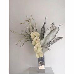 + c u l t o f ʍ o ɹ ɹ o ɯ o ʇ + Flower Bomb, Ikebana, Floral Arrangements, Flower Arrangement, Plant Hanger, 21st, Bloom, Photo And Video, Stone
