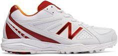 New Balance CK4020 C2 Rubber Cricket Shoes red/orange