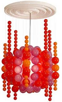 More Bubble Lights?  Why, yes thanks, I do believe I will. This one is by Panton.