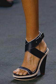 Rag & Bone heeled sandal for Spring 2013.