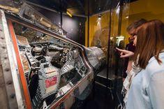 Apolo 13 exposición en el planetario Adler de Chicago Crédito: Adler Planetarium