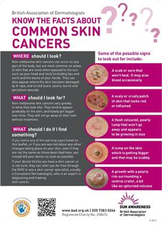Skin Cancer - British Association of Dermatologists. Our skin can make Vitamin D and other important nutrients for our body when getting sun. Think about getting safe sun, check UV Index, and use SunOxidants concentrated organic aloe Vera and oils from richest antioxidant sources. Highest cancer rates in states that DON,T get lots of sun. Detection, protection, diet, genetics. Special SunOxidants discount on Amazon.
