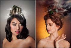 Photographer, Editor and Hairdresser Combine Fashion and Fantasy - Bokeh by DigitalRev Photo Manipulation, Bokeh, Hairdresser, Portrait Photography, Graphic Design, Fantasy, Landscape, Editor, Inspiration