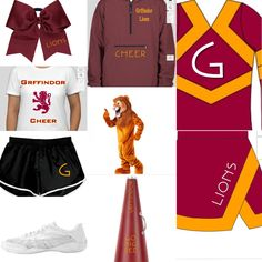 If Grffindor had a cheer team.