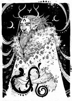 Horned God by Rituhell on DeviantArt Pan Mythology, God Tattoos, Tatoos, Pagan Gods, New Gods, Gods And Goddesses, Book Of Shadows, Skull Art, Embroidery Art