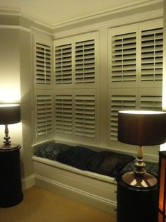 England rugby captain Lewis Moody had some of our interior shutters installed for his bay windows. Bay Window Shutters, Country Shutters, Blinds, Hardwood, Home Appliances, Windows, Curtains, Living Room, Design