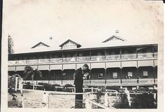 Mt Carmel Christian Brothers College in Charters Towers, Qld, Australia in the 1930s.