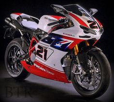 Ducati 1098 R Troy Bayliss replica