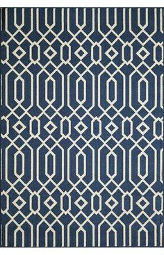 Comes in orange or navy runner. Navy $29, Orange $49 (larger) from Rugs USA. For blue, orange, and grey boy's room.