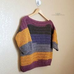 Everygirl Crochet Sweater - Hooked on Homemade Happiness