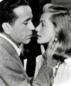 Glamour ~ Bogart and Bacall