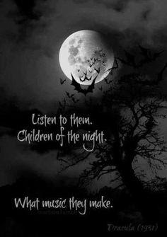 Children of the Night...