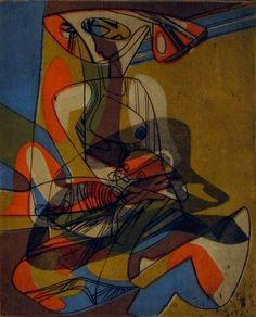 Stanley William Hayter, Maternity, 1960