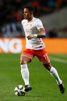 Dutch 2015 away kit - Memphis Depay