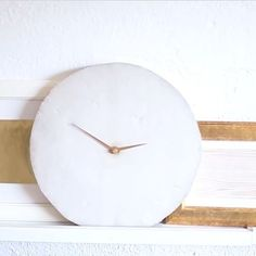 6 Things You Never Knew You Can Make With Concrete | DIY Wall Clock
