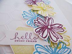 Stampin Up Flower Shop Stamp Set