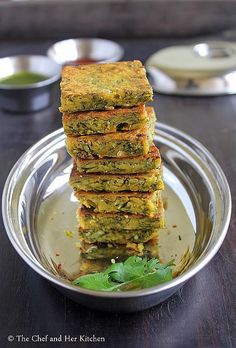 Kotimbir Vadi Coriander fritters I healthy snacks I Vegan Recipe Quick Healthy Snacks, Vegetarian Snacks, Vegan Foods, Vegan Recipes, Snack Recipes, Cooking Recipes, Quick Indian Snacks, Bread Recipes, Healthy Food