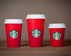 Seasonal Starbucks cups have become a sign the holidays are drawing near,but this year's design isn't filling coffee lovers with holiday cheer. The red cups