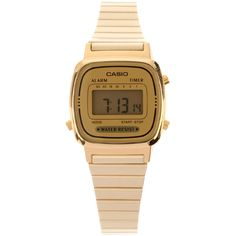 CASIO Women Watch ($78) ❤ liked on Polyvore